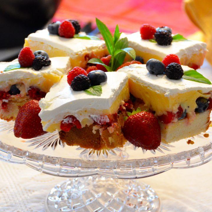 Berry–Licious Dessert Squares