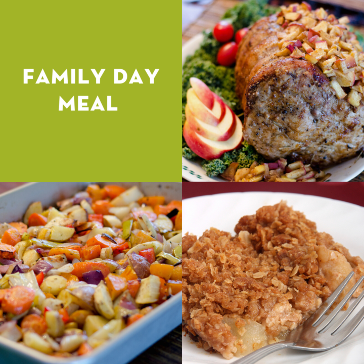 Cook a meal together on Family Day!