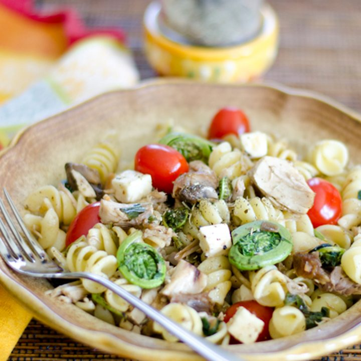 Fiddlehead Pasta Toss