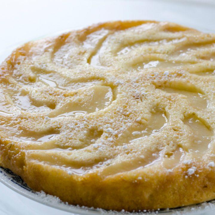 Ginger–Pear Upside–Down Cake