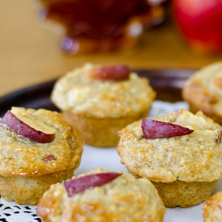 Maple Syrup Apple Muffins