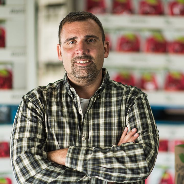 Kevin Martin, President of Martin's Family Fruit Farm