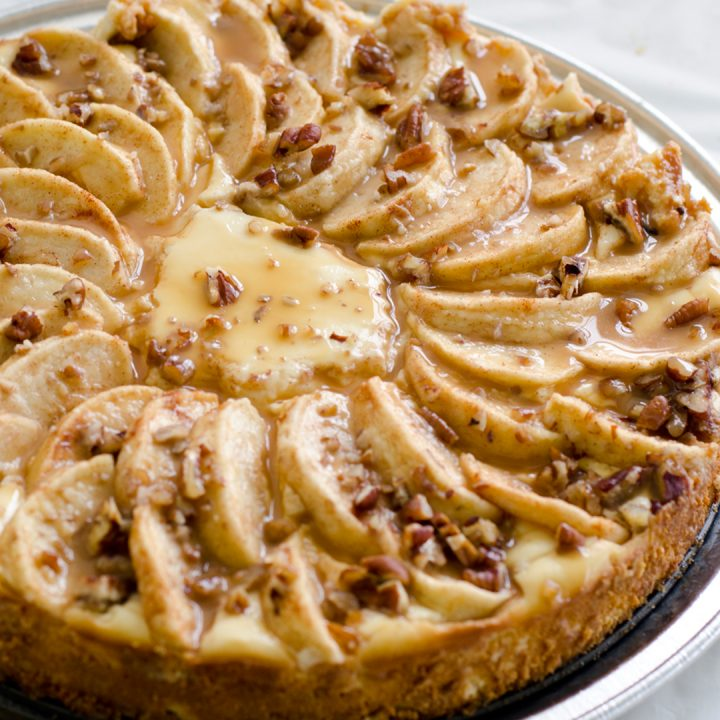 Rose's Apple Cheesecake