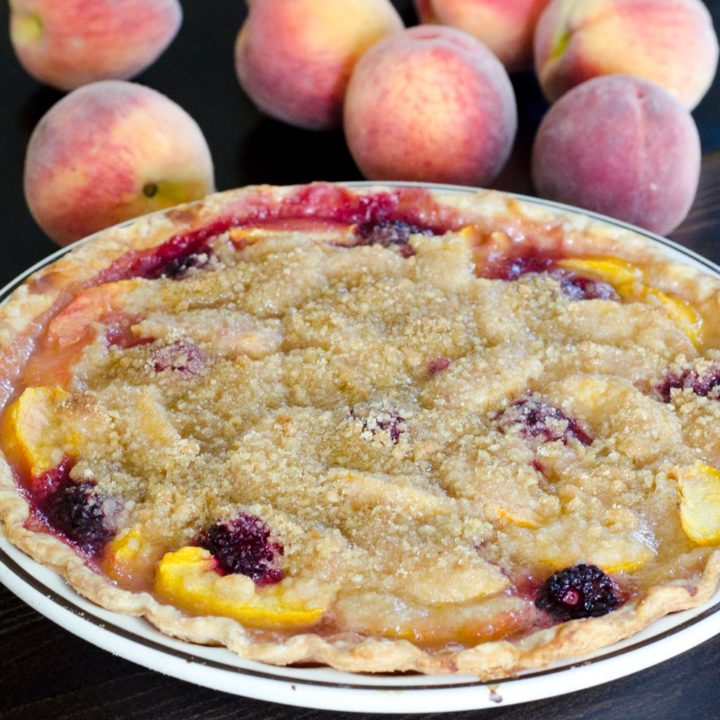 SUMMERTIME PEACH PIE